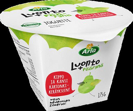 päärynäjogurtti laktoositon
