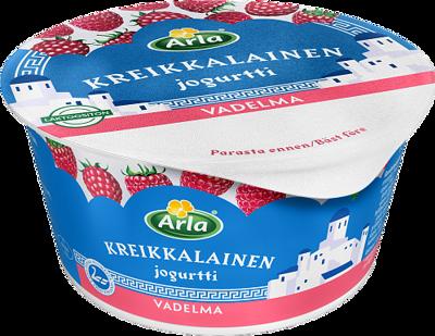 Kreikkalainen jogurtti vadelma, laktoositon