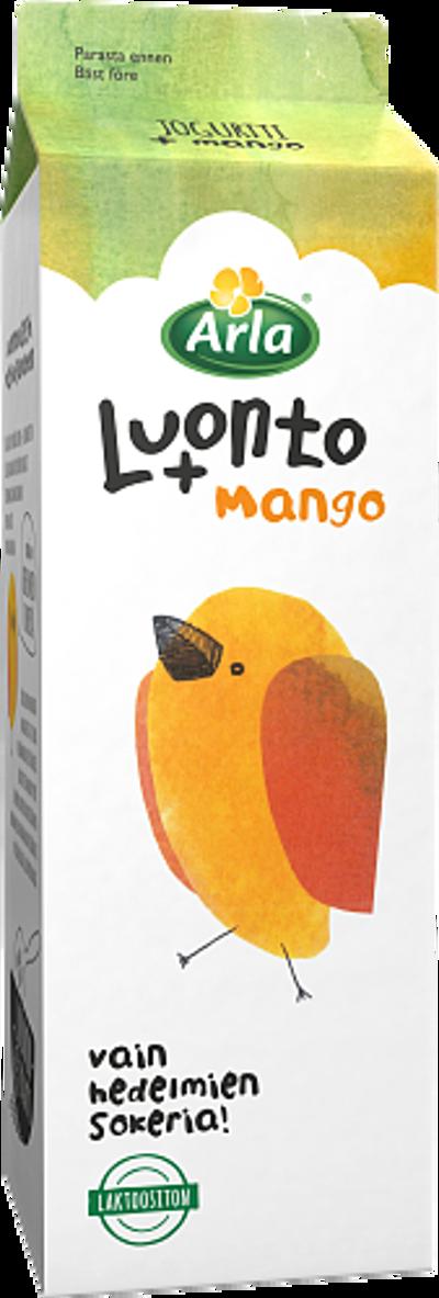 Mangojogurtti, laktoositon