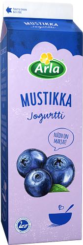 Arla® Jogurtti Mustikkajogurtti 1 kg