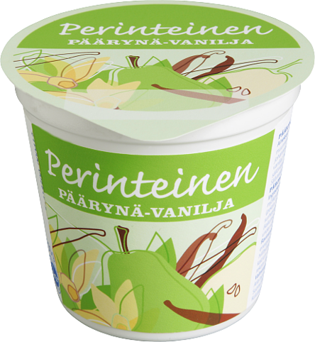 Päärynä-vaniljajogurtti