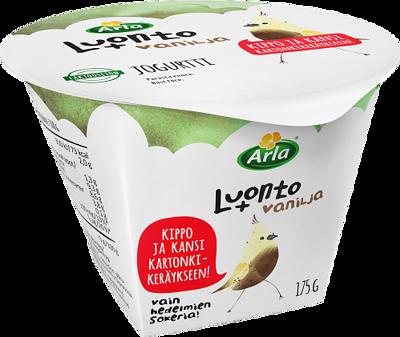 vaniljajogurtti laktoositon