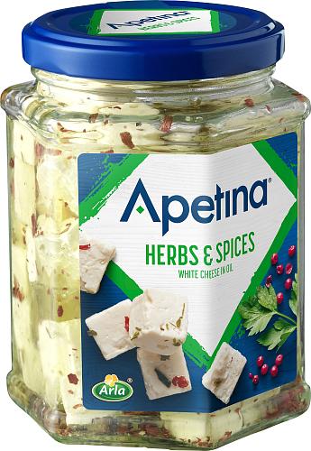 Apetina® Kuutiot öljyssä Yrtit ja mausteita 265 g