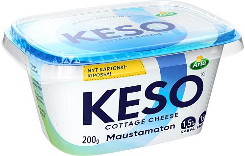 Arla Keso® maustamaton raejuusto 1,5 % 200 g