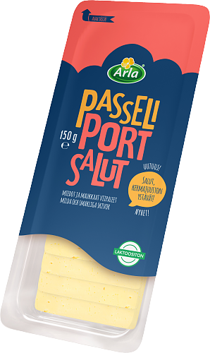 Arla Tolkuttomat Juustot Passeli Port salut viipale 150 g