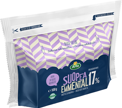 Suopea Emmental 17 %