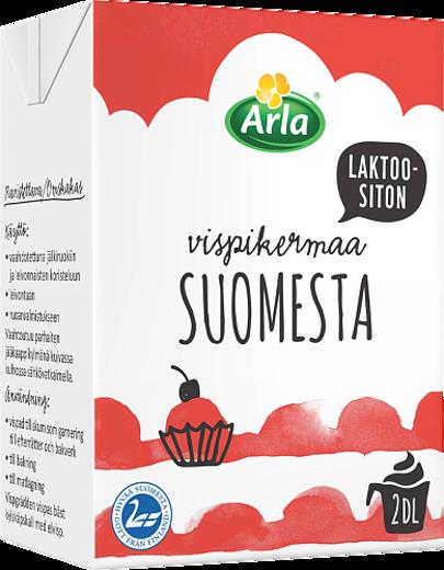 Laktoositonta Vispikermaa Suomesta (UHT)