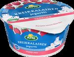 Kreikkalainen jogurtti vadelma, laktoositon 150 g
