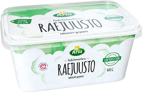 Arla® Laktoositon raejuusto 400 g