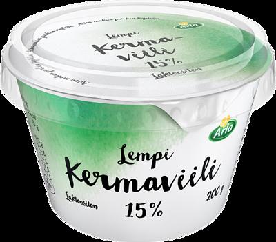 Kermaviili 15 % laktoositon