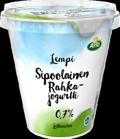 Sipoolainen rahkajogurtti 0,7 % laktoositon