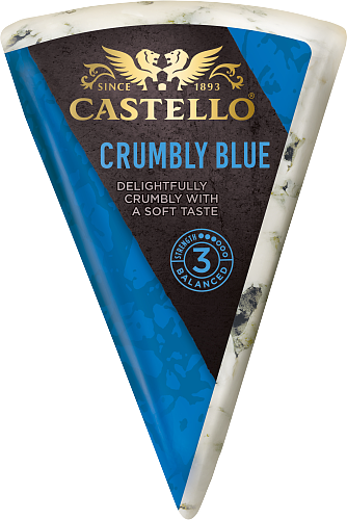 Crumbly Blue