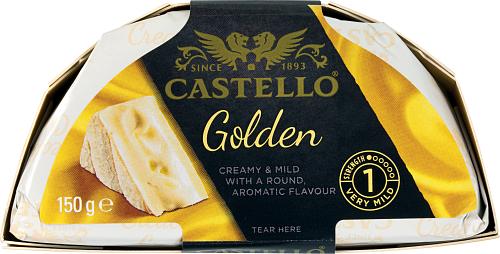 Castello® Golden punavalkohomejuusto 150 g