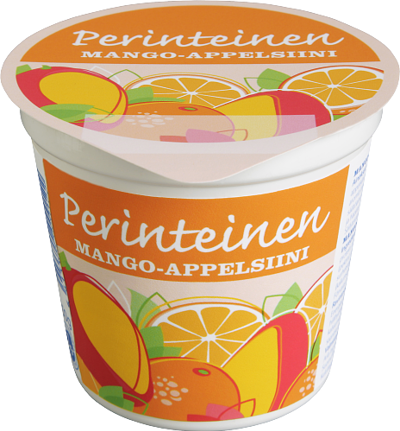 Mango-appelsiinijogurtti