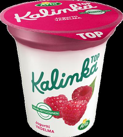 Kalinka Top Vadelmakerrosjogurtti vähälaktoosinen