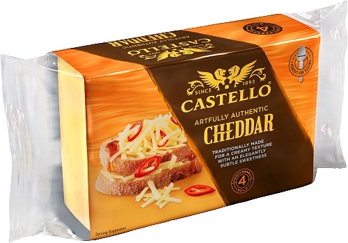 Castello® Artfully Authentic Cheddar 500 g