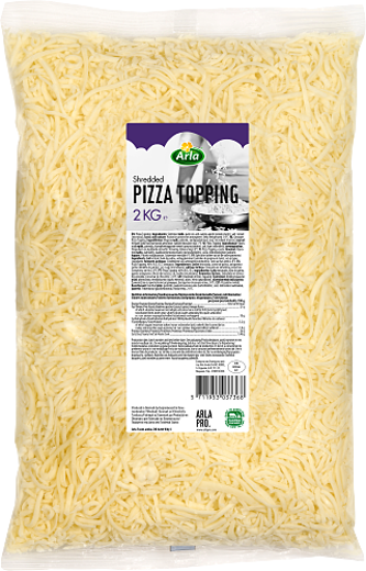 Pizzatopping raaste 21%