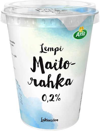 Maitorahka 0,2 % laktoositon