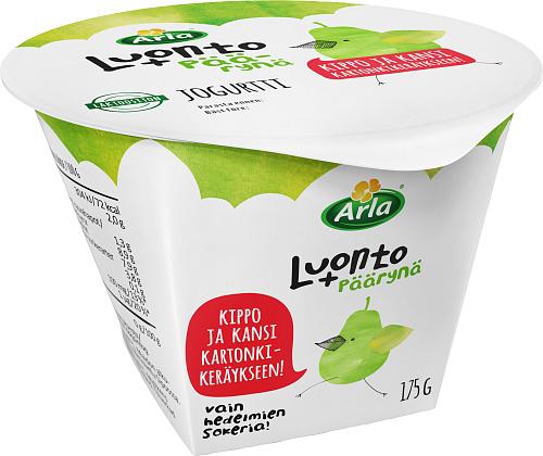 Arla® Luonto+ päärynäjogurtti laktoositon 175 g