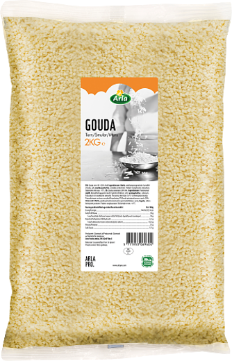Gouda pizzajuustomuru 28%