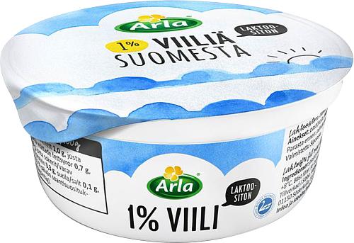 Arla® Laktoositonta 1 % viiliä Suomesta 150 g