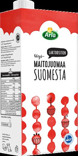 Laktoositon Täysmaitojuoma UHT