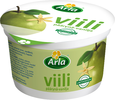päärynä-vaniljaviili, laktoositon