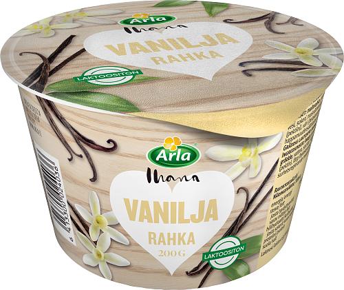 Rahka vanilja laktoositon