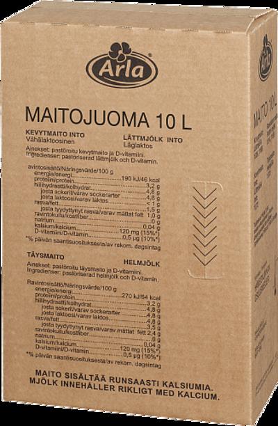 Laktoositon kevytmaitojuoma Suomi, novobox