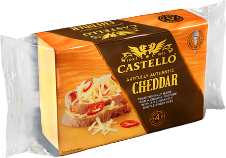 Artfully Authentic Cheddar